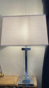 Bridgeport Designs Kate Crystal Panel Table Lamps - Set of 2 - ART-316094