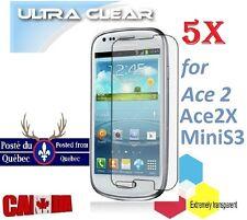 5X Protecteur Ecran ULTRA clair Samsung Galaxy Ace 2 2X Clear Screen Protector 5