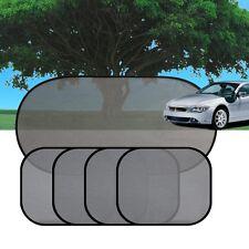 5Pc Auto Car Side Window Black Mesh Cover Sun Shade Windshield Sunshade Visor