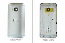 Genuine HTC One M9 2015 Silver / Gold Battery Cover - 83H40031-69