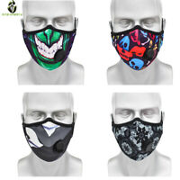 Replaceable active carbon Face Cover with Filter Mouth Covers Reusable scarf