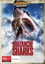 Avalanche Sharks (DVD) HORROR/SCI-FI [Region 4] Jaws Monster