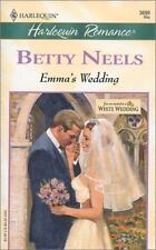 NEW - Emma's Wedding (Harlequin Romance, 3699) by Neels, Betty