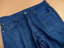 Cotton Indigo, Dark wash Regular Stretch Jeans for Men