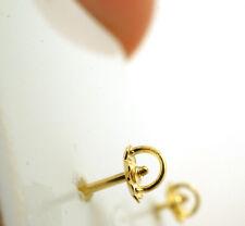 10K GOLD SCREW BACKS FOR BABY EARRINGS ONLINE EARRINGS 1 SET