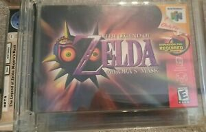 Zelda Majoras Mask Nintendo 64 N64 Sealed & Graded Brand New WATA A VGA ~OFFER!~