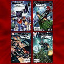 Black Widow & The Marvel Girls (2010) #s 1 2 3 4 Complete Set Lot Full Run Nm