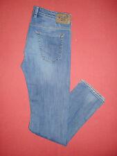 Designer Diesel KOOLTER 0R33B - Mens Blue Denim Jeans - Waist 34 Leg 34 - B212/