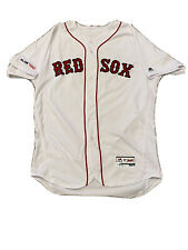MLB Authenticated - David Price Home White Jersey Issued By Boston Red Sox