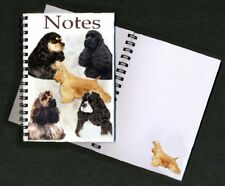 American Cocker Spaniel Notebook/Notepad By Starprint