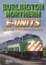 Burlington Northern E-Units BN Pentrex Train DVD New