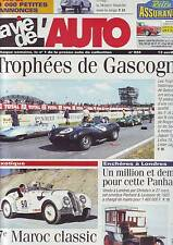 La vie de l´auto 934 - 13 avril 2000 /  gascogne - 7 e maroc classic - panhard