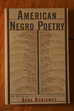 American Negro Poetry by Arna Bontemps 1998 Anthology Paperback Book