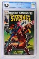 Doctor Strange #182 - Marvel 1969 CGC 8.5 Juggernaut, Nightmare and Eternity App
