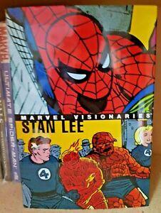 Marvel Visionaries Stan Lee Hardcover  (2005) Comic Books