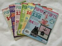Paper Crafts Magazines Lot of 6 Vol 34 No 1-6 2011 Card Making Projects Ideas
