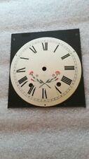 Horloge ComtoiseCadran fleuri neuf (03.2020)  old french clock UHR orologio
