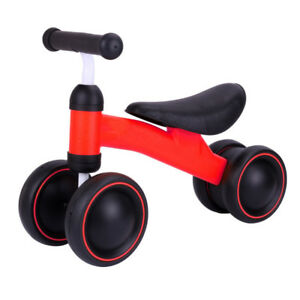 Baby Balance Bike Sliding Car Children Walker 4 Wheels Scooter for 1-3 Years old