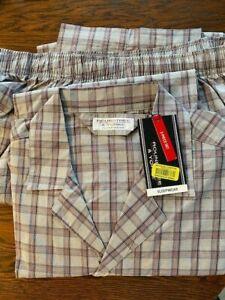 Roundtree & Yorke Sleepwear Pajamas Mens Size L New