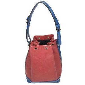 100% Authentic Louis Vuitton Epi Noe Shoulder Bag Multicolor [Used] {08-184B}
