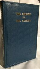1949 THE DESTINY OF NATIONS ALICE BAILEY OCCULT THEOSOPHY SECRET DOCTRINE MYSTIC