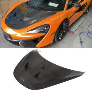 Dry Carbon Fiber Front Bonnet Hood Engine Cover For McLaren 540C 570S 600LT 15UP