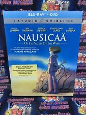 NEW Nausicaa Of The Valley Of The Wind Blu-Ray + DVD w Slipcover SEALED Ghibli