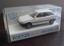 Rietze HO 1/87 White Opel Astra Car NIP