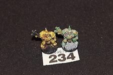 Games Workshop Warhammer 40k Chaos Space Marines Nurgle Metal Rogue Trader Era