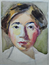 Kliefert-Gießen, Mathilde (1887 Pries/Kiel–1978 Stralsund) Selbstportrait/Studie