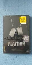 Brand New Platoon 2 - Disc Metal Case Tom Berenger Charlie Sheen Willem Dafoe