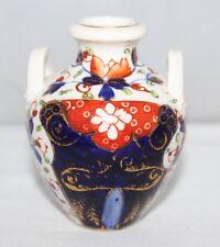 Royal Crown Derby - Antique Imari Twin Handled Vase - c1815