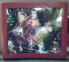 NEW 10 New Adorable Small Christmas Ornaments in Original Box