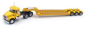 1:64 FIRST GEAR 60-0167 YELLOW MACK GRANITE WITH LOWBOY!!!! NEW IN BOX!!  NOS!!!