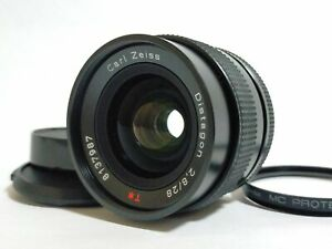 [MINT] Contax Carl Zeiss Distagon 28mm f/2.8 T MMJ MF Lens CY Mount From JAPAN