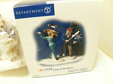 Department 56 Snow Village: A Day at the Races - 56.55279 NIB     734409334311