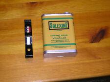 SoleX F4 Solexine Bidon Reservekanister gelb mit Halter Velosolex