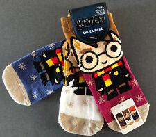 3 Paar Harry Potter Damen Sneaker Socken Weihnachten Hermine Ron 37-42 Primark