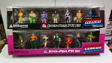 DC Direct Silver Age Justice Leagueof America and Villains PVC sets MIB