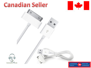 USB Sync Cable Charger for IPhone 4 4S 3G 3GS iPad 1 2 3 iPod Touch Nano 30 Pin