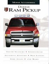 Dodge Ram Pickup Mopar Accessories Automobile Brochure EX 090216jhe
