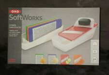 OXO SoftWorks Complete Grate & Slice Set 7 Piece Set Brand New