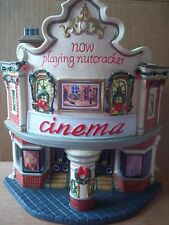 O'WELL CINEMA HOUSE (THEATER)  NOW SHOWING NUTCRACKER w/ power cord 2008 ltd ed