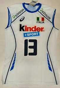 6905 ASICS Fipav Team Italy Women's Shirt Race Abel 13 National Volleyball
