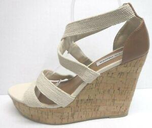 Steve Madden Size 11 Platform Wedge Sandals New Womens Shoes