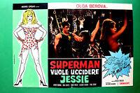 T01 Fotobusta Superman Wird zu Töten Jessie Olga Berova Artur Numan Max Curtis