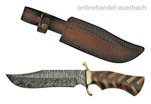 RITE EDGE DM-1221 Messer Damast Damaszener Bowie