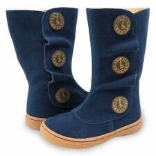 NIB New LIVIE & LUCA Shoes Boots Marchita Tiempo Navy Blue 4 5 8
