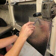 Car Door Floor Damping Deadening Heat Sound Barrier 12 x 12 Sheets 100 SQ FT