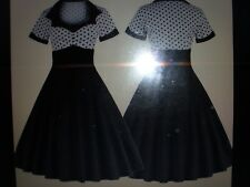 VINTAGE PIN UP SWING PARTY DRESS